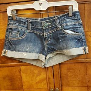 ANAMA Ladies Denim Shorts Size 27